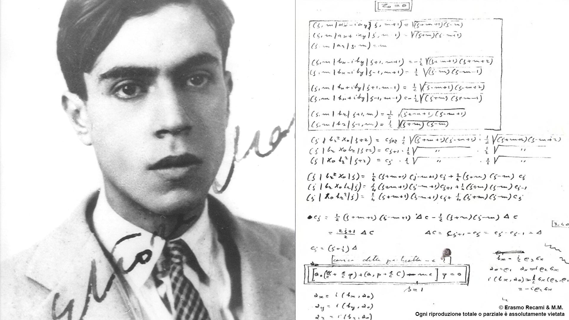 Ettore Majorana, lo scienziato, la fama, il genio